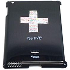 Symtek WUS-PD3-TCP01 Whatever It Takes Coldplay Premium Tough Shield Case for iPad 3 - Black