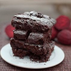 Chocolate Beetroot Brownies! (the beetroot counteracts all calories, duh)