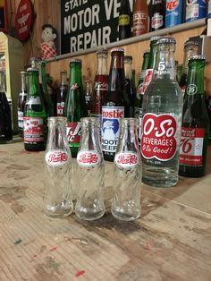 Vintage Pepsi Cola Soda Mini Bottle