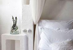bedroom: minimal, but inviting