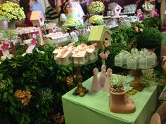 Mesa Jardim Coruja. Gaiolas, Casinhas, Cones, Caixetas. #Parties #festa #Owl #Silhouette #Mimos