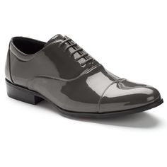 Stacy Adams Gala Men's Oxford Dress Shoes, Size: medium (11.5), Grey
