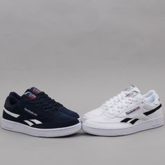 Fresh Reebok Revenge Plus have landed at A clean looking trainer available  in both white leather and blue suede. With sizes ranging between at just  they re ... ce1a24aca