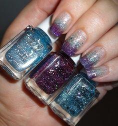 Born Pretty Store Glitter Gradient Nail Polish Set #7 - Bellashoot