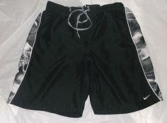 Nike Athletic Trunks Shorts Lined 2 Pockets SZ: XL TG Gym Running Swim Trunks #Nike #Athletic