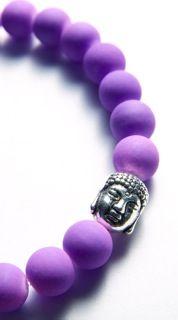 Original Kayleigh Falcus Deep Purple Buddha Bracelet. https://www.facebook.com/kayleighfalcusjewellery
