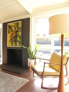 My Houzz A Mid Century Marvel Revived In Long Beach Modern Living Room