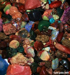 I've always had an obsession with pretty rocks...