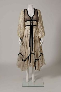 A Thea Porter gypsy dress from the Venetia Porter collection. Photo by Courtesy of the Venetia Porter collection / Image © V&A Photographic Studio