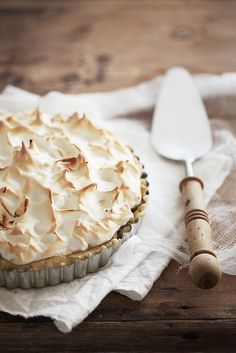 Lemon meringue pie #pie