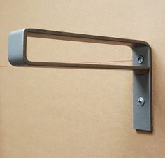 8 Light Belt Bracket. Hand Forged Metal. Shelf by DVAMetal