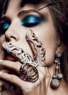 StyleScavenger: Long rings  Image by Camila Rivas