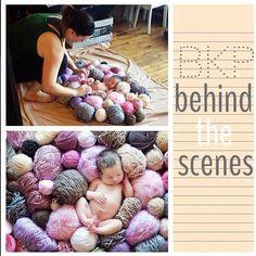 Cute knitting yarn shot by Brooke Kelly