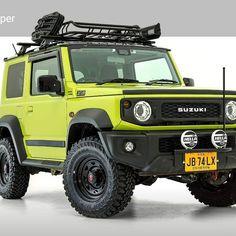 New Suzuki Jimny, Jimny 4x4, Maruti Suzuki Cars, Jimny Sierra, Adventure Car, 4x4 Van, Cool Jeeps, Mini Trucks, Hot Rides