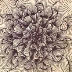The Cosmic Doodler ( Doodle Art Drawing, Zentangle Drawings, Zentangle Patterns, Art Drawings, Zentangles, Dibujos Zentangle Art, Doodle Art Designs, Arte Sketchbook, Illusion Art