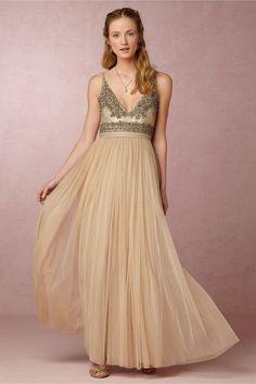 BHLDN Brisa Dress in  Bride Reception Dresses at BHLDN, vestido festa, vestido bordado, decote V, V neck dress, embroided dress