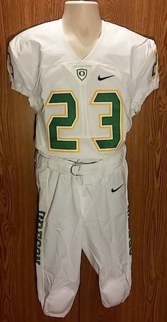 RARE Oregon Ducks Football Team Issued Uniform Nike Boys Large NCAA #23  #Nike #OregonDucks