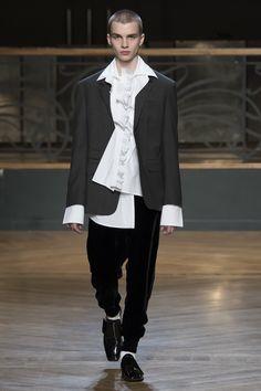 Wooyoungmi | Menswear - Autumn 2017 | Look 5