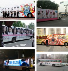 Compilation of idol group buses becomes a hot topic online