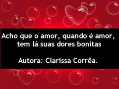 Poemas e Versos : Clarissa Corrêa - Poesia Visual - Acho que o ...