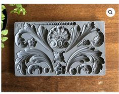 Have fun adding texture to your furniture or any projects with these Iron Orchid Designs Decor Moulds - Acanthus Scroll along with our Air Dry Clay. Iron Orchid Designs, Paperclay, Acanthus, Air Dry Clay, Diy Painting, Silicone Molds, Craft Projects, Furniture Projects, Craft Ideas