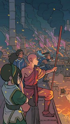 Nickelodeon Avatar: The Last Airbender - Imbalance TPB 3 - Read Nickelodeon Avatar: The Last Airbender - Imbalance TPB 3 comic online in high quality Avatar Aang, Avatar Legend Of Aang, Avatar Funny, Team Avatar, Avatar Fan Art, The Last Avatar, Avatar The Last Airbender Art, Aang The Last Airbender, Zuko