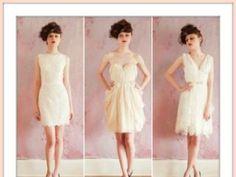 Tendências 2013: vestidos de noiva curtos [Foto]