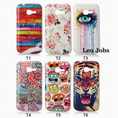Soft TPU Cover New Eye Flower Windbell Tiger Cute Phone Case for Samsung Galaxy Star Pro S7260 S7262 GT-S7262 YC1032