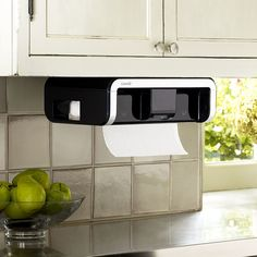 Take a look at this CLEANCut Black Paper Towel Dispenser on zulily today! Home Theater Setup, Home Theater Seating, Home Gadgets, Kitchen Gadgets, Fun Gadgets, Kitchen Tools, Home Theater Installation, Countertop Organization, Paper Towel Holder