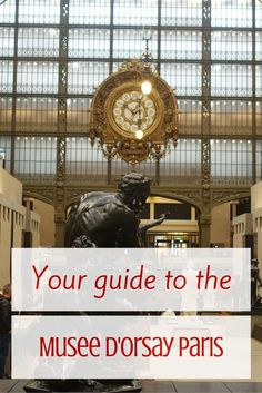 The Musee d'Orsay is a favorite of many visitors to Paris. Join me on a tour of this wonderful museum. - Frugal First Class Travel Paris Travel Tips, Europe Travel Tips, Travel Advice, London Travel, Travel Guides, Tour Eiffel, Travel Around Europe, Triomphe, Vienna