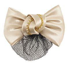 Khaki Bowknot Snood Net Barrette Hair Clip Bun Cover for Women Rosallini http://www.amazon.com/dp/B008IG7DJY/ref=cm_sw_r_pi_dp_YU.ewb08MP9R0