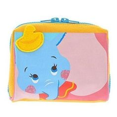 Official Disney Store Japan * Dumbo Cosmetic Bag * Pouch Hello Friends! series…
