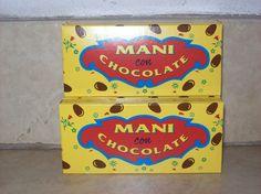 Mani con chocolate para el cine jaja