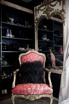 what my future shoe closet will look like
