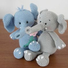 Amigurumi Elephant Free Crochet Pattern amigurumi elephant free crochet pattern amigurumi elephant free crochet pattern tutorial first, ba elephant amigurumi pattern amigurumi today amigurumi elephant free crochet pattern, am Cute Crochet, Crochet For Kids, Crochet Crafts, Crochet Dolls, Crochet Baby, Crochet Projects, Knit Crochet, Crocheted Toys, Amigurumi Patterns