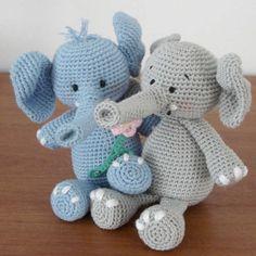 Free Elephant Amigurumi Crochet Pattern