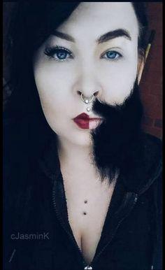 female male makeup