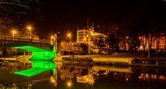 Tineretii bridge and the Bega canal