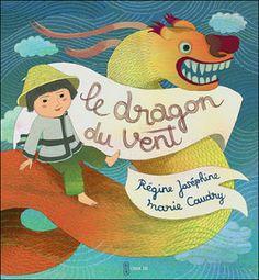 Régine JOSEPHINE: Le Dragon du Vent, couverture !