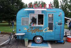 Food Trucks, Coffee Food Truck, Deco Cafe, Mobile Coffee Shop, Mobile Food Cart, Catering Van, Coffee Trailer, Food Trailer, Boler Trailer