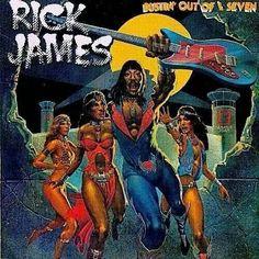 Rick James album cover.