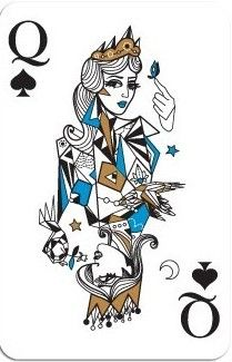 MADDECK Playing Cards By Ozlem Olcer