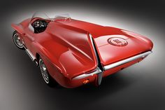 automotivated:    1960 Plymouth XNR concept (by Classic Driver)