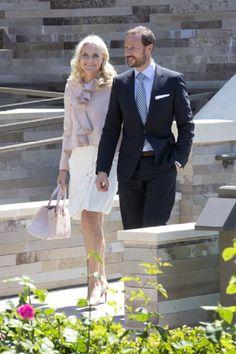 Crown Prince Haakon of Norway and Crown Princess Mette-Marit of Norway