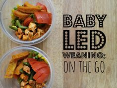 The best part about baby led weaning is the ability to take your baby out to eat without and not be focused on spoon feeding him the entire time! This post shows you how to easily utilize baby led weaning on the go.