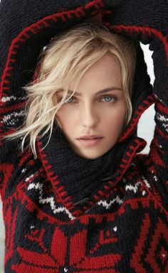 Ralph Lauren - wish I could see more of the sweater it looks gorgeous!
