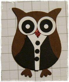 dapper dressed owl