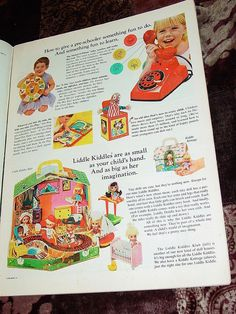 Vtg 1966 Mattel Toy Christmas Print Advertising Booklet Pull Out Catalog x 15 | eBay