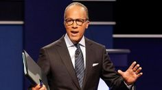 I knew it!- how nbc's lester holt became the moderator in the pres. debate! [trump-clinton] sept. 2016