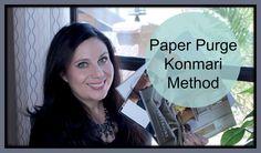 Konmari Method Paper Purge